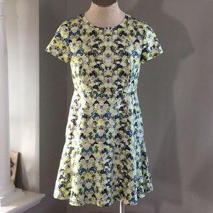 J crew factory yellow dress size 12